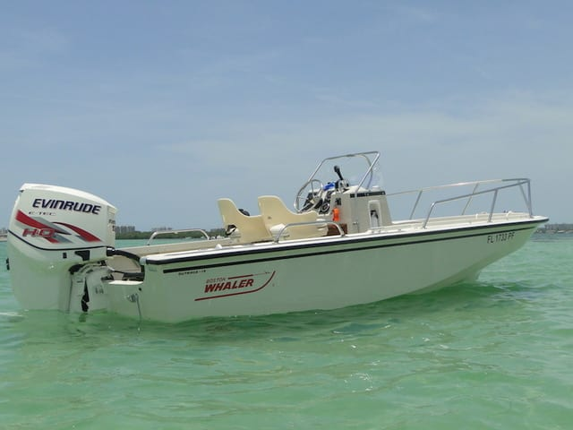 The Classic Boston Whaler Outrage is One of the Best Used